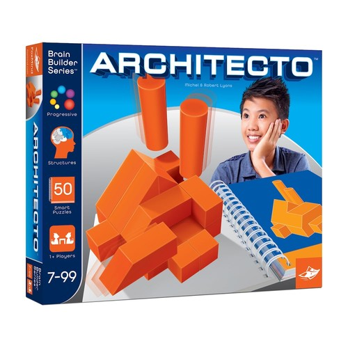 FoxMind Games Brain Builder Series Architecto Puzzle