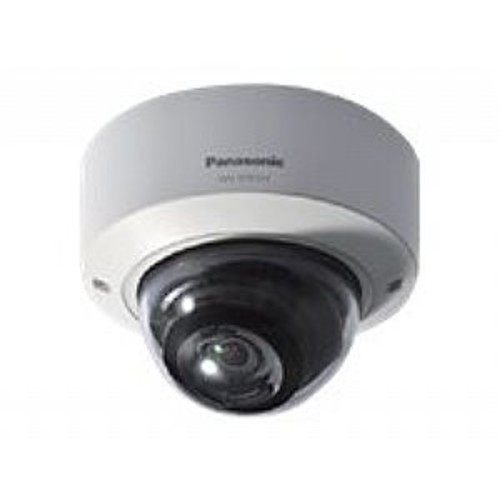 Panasonic i-Pro Smart HD WV-SFR311 - Network surveillance camera - dome - vandal-proof - color ( Day&Night ) - 1.3 MP - 1280 x 960 - 720p - vari-focal - audio - composite - 10/100 - MJPEG, H.264 - DC