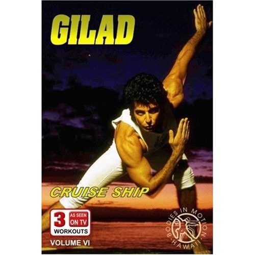 Gilad: Bodies in Motion, Vol. 6 - Cruise Ship (DVD) (Eng) 2009