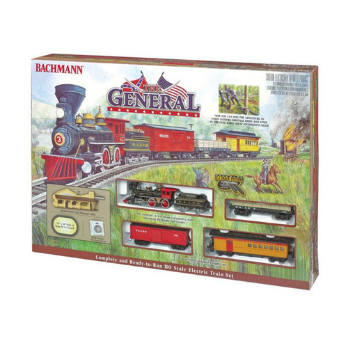 Bachmann Trains The General - HO Scale Ready To Run Electric Train Set