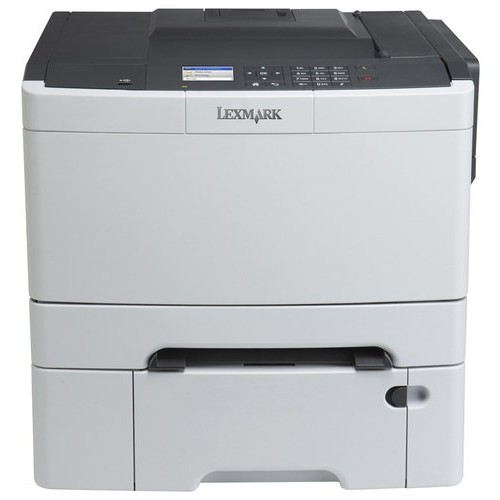 Lexmark CS410DTN Color Laser Printer with Networking & Duplex - up to 32 ppm Black & Color, 550-sheet Tray, 256MB Memory