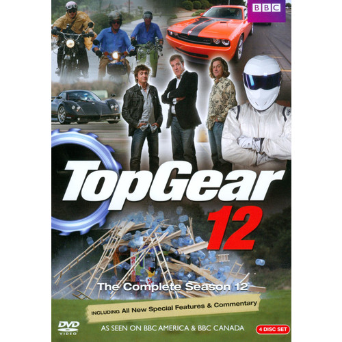 Top Gear: The Complete Season 12 [4 Discs] [DVD]