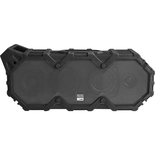Altec Lansing - Super Life Jacket iMW888 Portable Wireless Speaker - Black steel gray