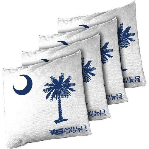 Wild Sports South Carolina State Flag Cornhole Bean Bags