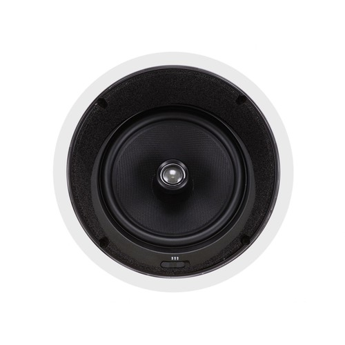 Monoprice Caliber In Ceiling Speakers 8 Inch Fiber 2-Way with 15 Angled Drivers (pair) - 104929
