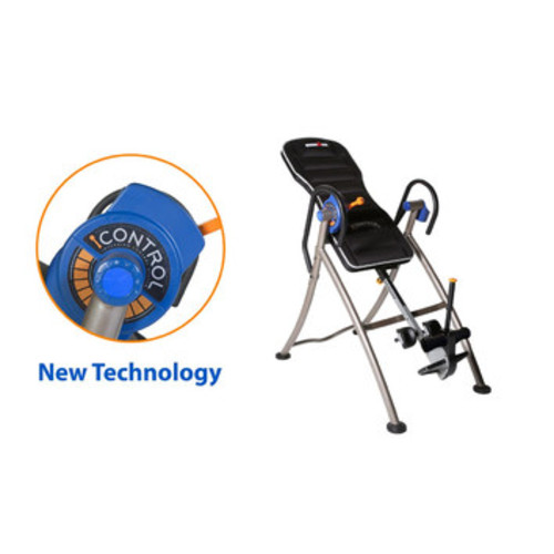 iControl 5620 Weight Extended Disk Brake System Inversion Table with Air Tech Backrest by Ironman Fitness