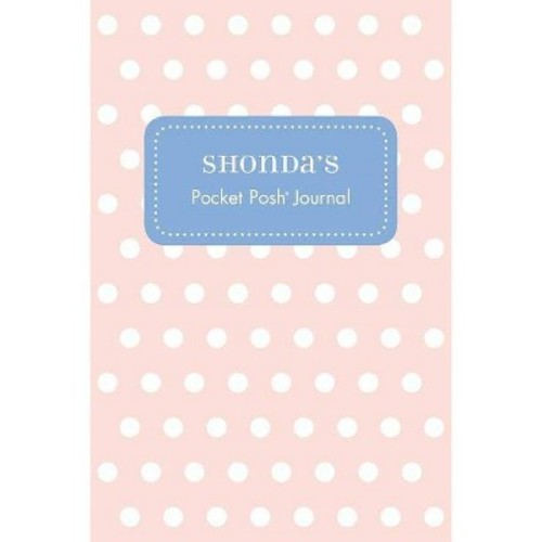 Shonda's Pocket Posh Journal, Polka Dot
