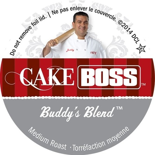 Cake Boss 'Buddy's Blend' Single Serve Coffee K-Cups