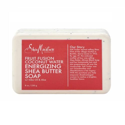 Shea Moisture Fruit Fusion Coconut Water Energizing Bar Soap