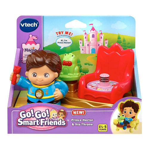 VTech Go! Go! Smart Friends Kingdom Prince Hector and Throne
