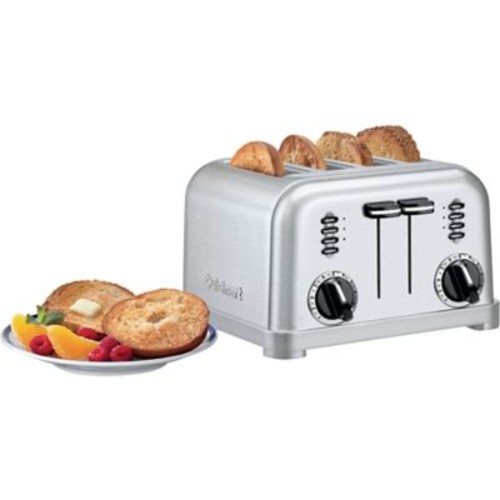 Cuisinart 4-Slice Metal Classic Toaster, White (CPT-180W)