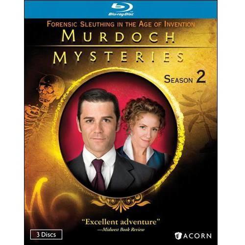 Murdoch Mysteries-Series 2 (Blu-Ray/3 Disc)