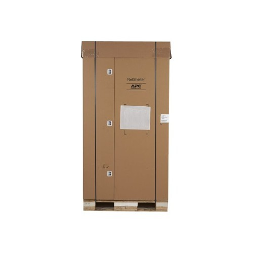 APC NetShelter SX Enclosure with Sides - Rack - cabinet - black - 42U - 19
