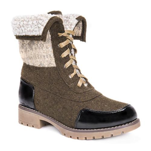 Muk Luks Jandon Womens Water Resistant Winter Boots [medium]
