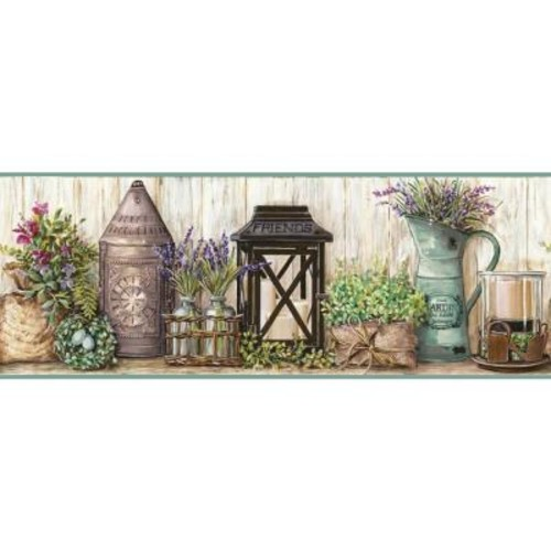 York Wallcoverings Country Keepsakes Garden Wallpaper Border