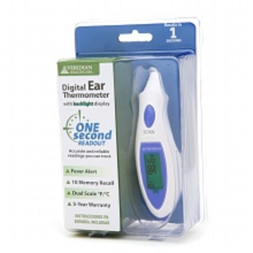 Veridian Healthcare Instant Digital Ear Thermometer