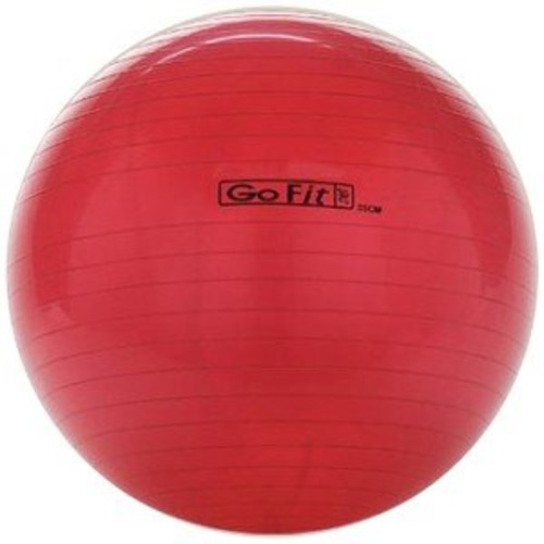 Exercise Stability Ball by GoFit Great for Balance, Fitness, Yoga, & Core Strength [55 cm]