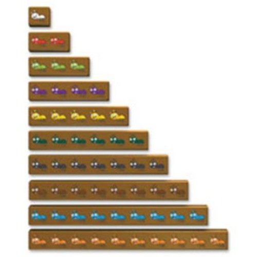 Learning Resources Cuisenaire Jr Ants On Log Activity Set, 20 Per Set (Sprch46998)