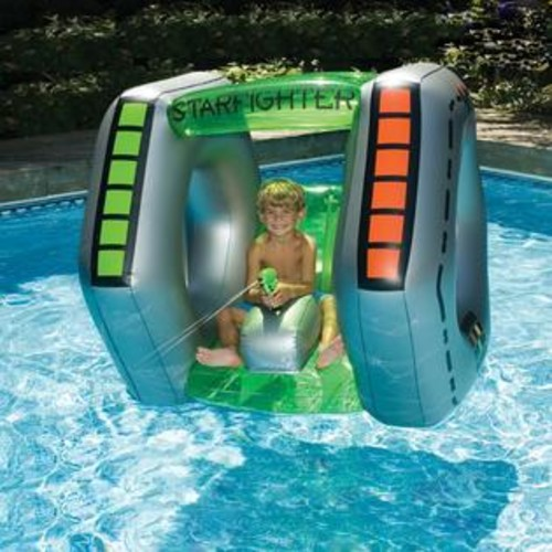 Blue Wave Starfighter Super Squirter Inflatable
