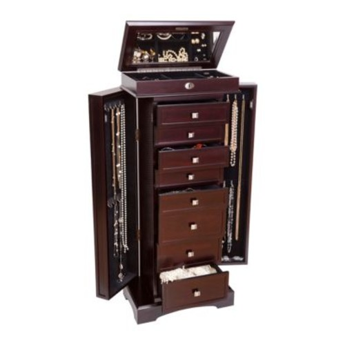Olympia Wooden Jewelry Armoire