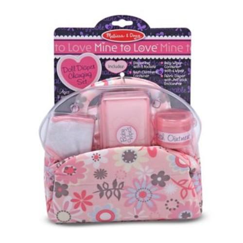 Melissa & Doug Mine to Love Doll Diaper Changing Set