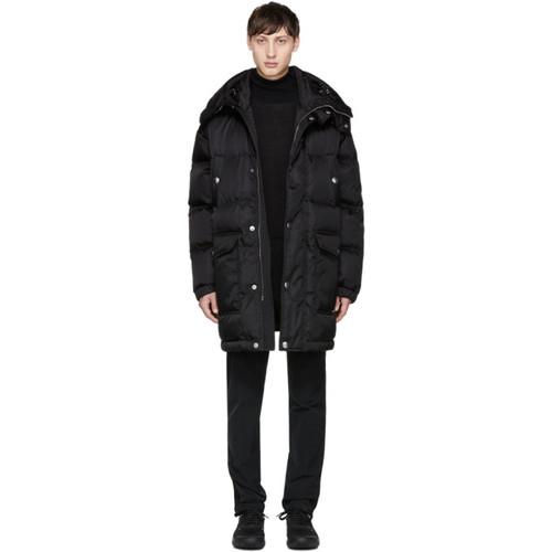 PRADA Black Down Hooded Jacket