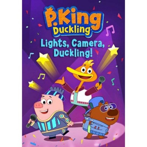 P King Duckling:Lights Camera Ducklin (DVD)