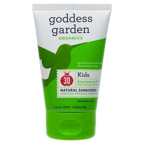 Goddess Garden Kid's Natural Sunscreen Tube - SPF 30 - 3.4oz