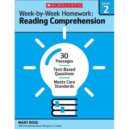 Week-by-Week Homework Reading Comprehension Grade 2 (Paperback)