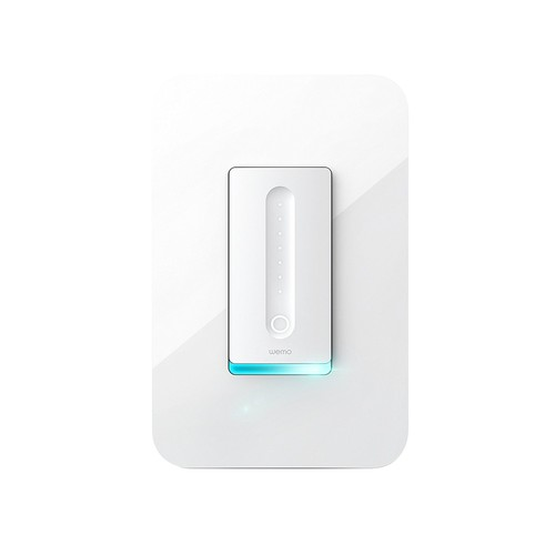 Wemo Dimmer Wi-Fi Light Switch, Works with Amazon Alexa and Google Assistant [Dimmer Light Switch]