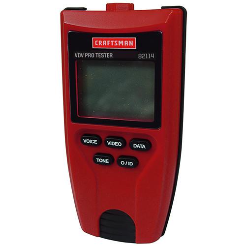 Craftsman 82114 VDV Voice/Data/Video PRO TESTER