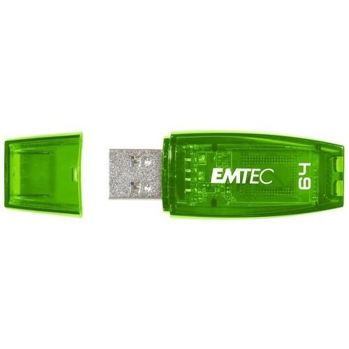 EMTEC - 64GB USB 2.0 Flash Drive - Green