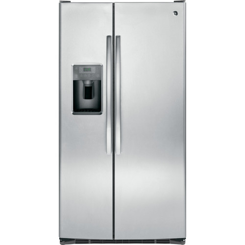 GSE25GSHSS 25.4 cu. ft. Side-by-Side Refrigerator - Stainless Steel