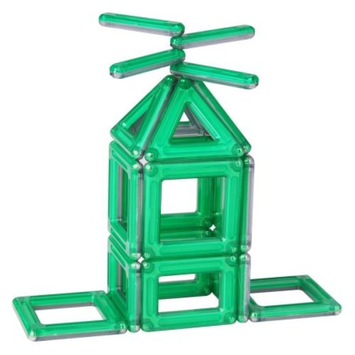 Guidecraft PowerClix Creativity Building Set, 40 Pieces, Green