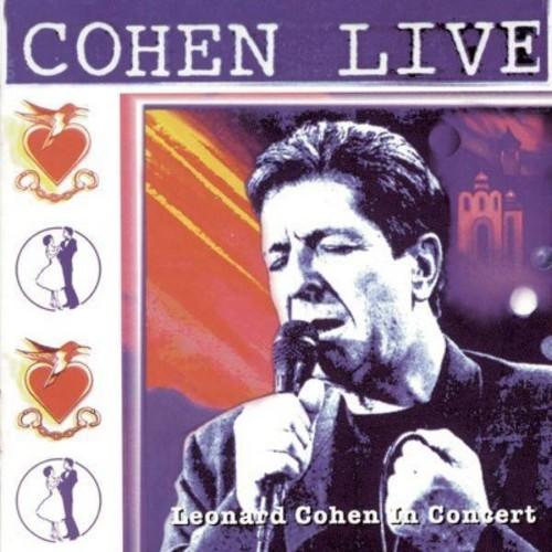 Leonard cohen - Cohen live:Leonard cohen live in conc (CD)