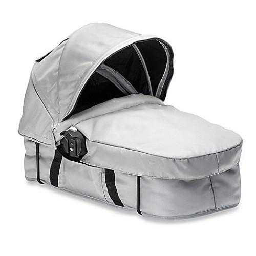 Baby Jogger City Select Black Frame Bassinet Kit in Silver