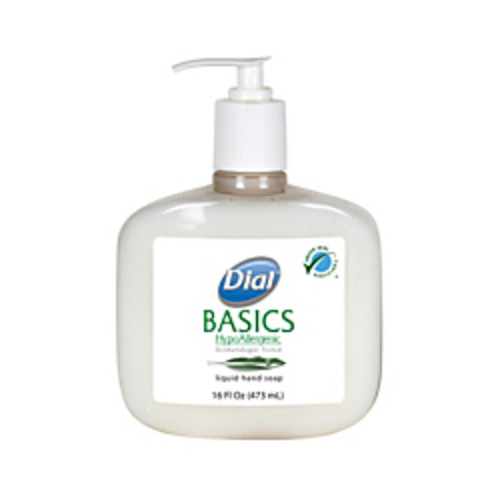 Dial Basics Liquid Hand Soap, 16 Oz