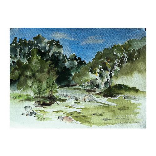 robert azensky fine art Chena Hot Springs