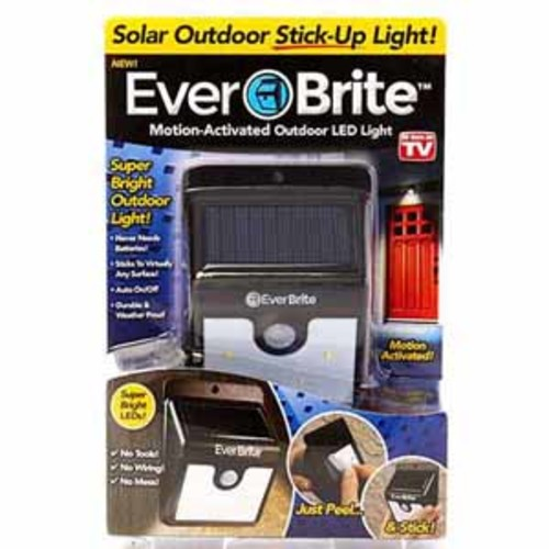 As Seen On TV - Ever Brite - Motion-Activated Outdoor LED Light