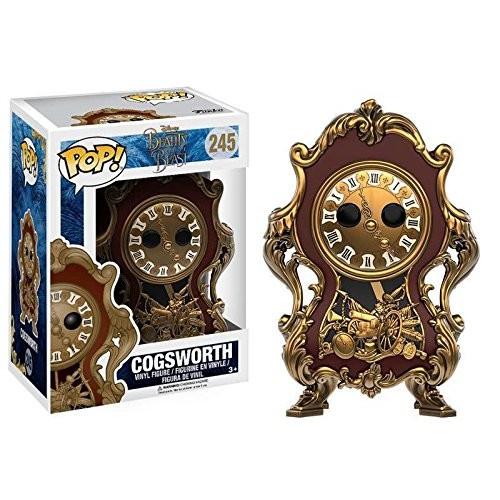 Funko POP Disney: Beauty & The Beast Cogsworth Toy Figure