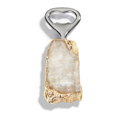 Heritage 24K Goldplated Crystal Bottle Opener