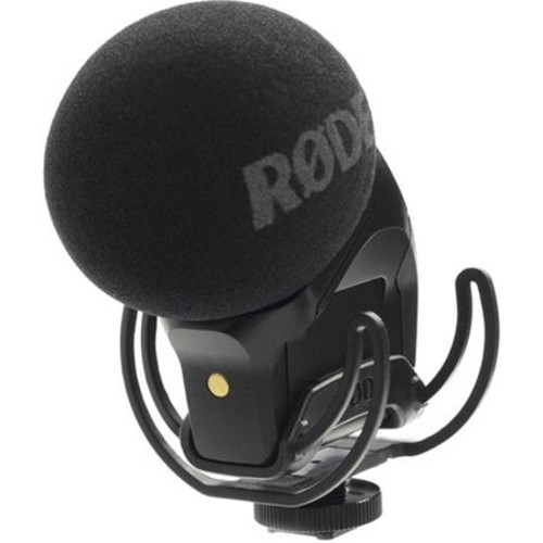 Rode Microphones Stereo VideoMic Pro On-Camera Rycote Microphone STEREO VIDEOMIC PRO-R