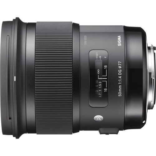 Sigma 50mm F1.4 ART DG HSM Lens for Canon [US Version, Canon]