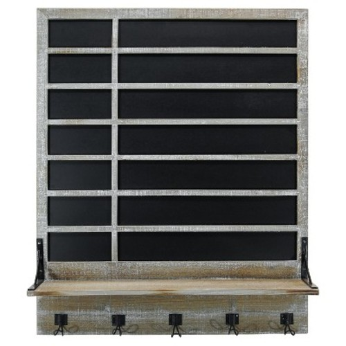 Chalkboard & Shelf Wall Dcor (32