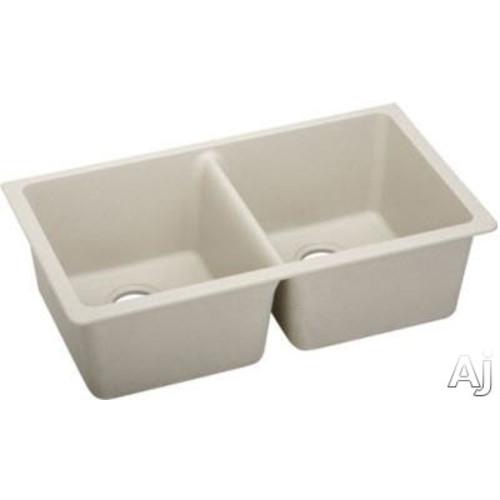 Elkay elgu250rwh gourmet undermount double bowl e granite kitchen elkay elgu3322gy gourmet undermount double bowl e granite kitchen sink workwithnaturefo