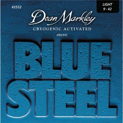 Dean Markley Blue Steel Electric Guitar Strings, Light, 6-String Set, 3 Pack DM25523PK