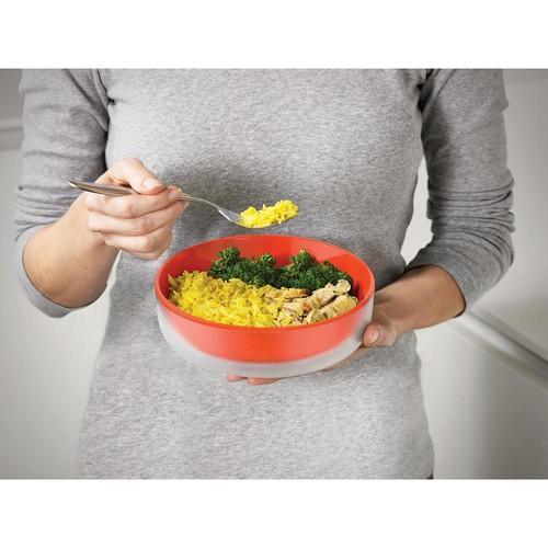 Joseph Joseph M-Cuisine 3-Piece Microwave Bowl Set in Orange with Cool Touch