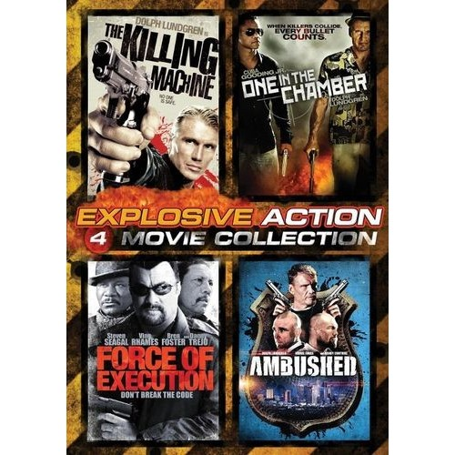 Explosive Action: 4 Movie Collection [4 Discs] [Blu-ray]