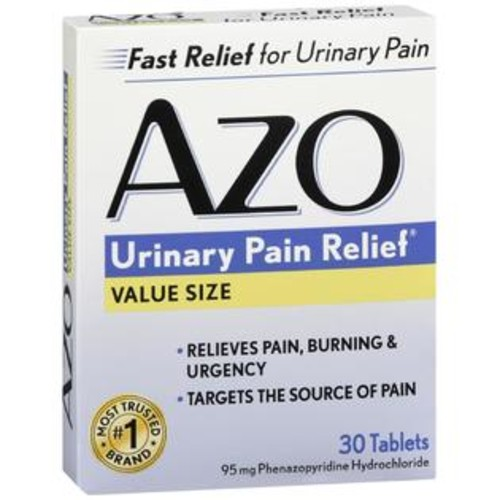 AZO Urinary Pain Relief Tablets, 30 Count
