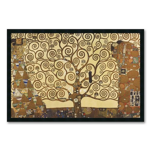 Amanti Art DSW01610 Gustav Klimt 'The Tree of Life, 1905-1911' Framed